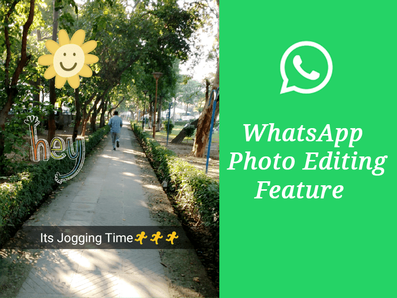 photo editing feature