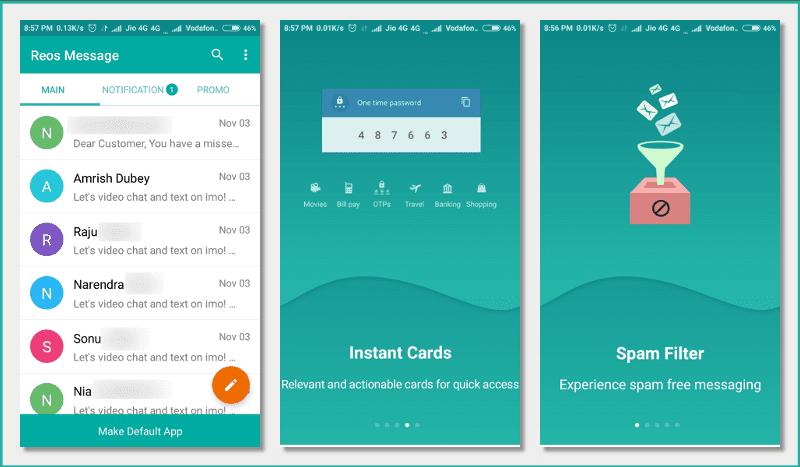 Reos Message App: Experience Spam Free Messaging | Techno Savie