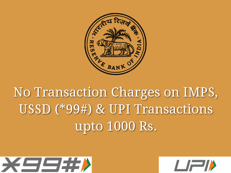 RBI Reduces Debit Card Transaction Charges to Boost Digital Payments