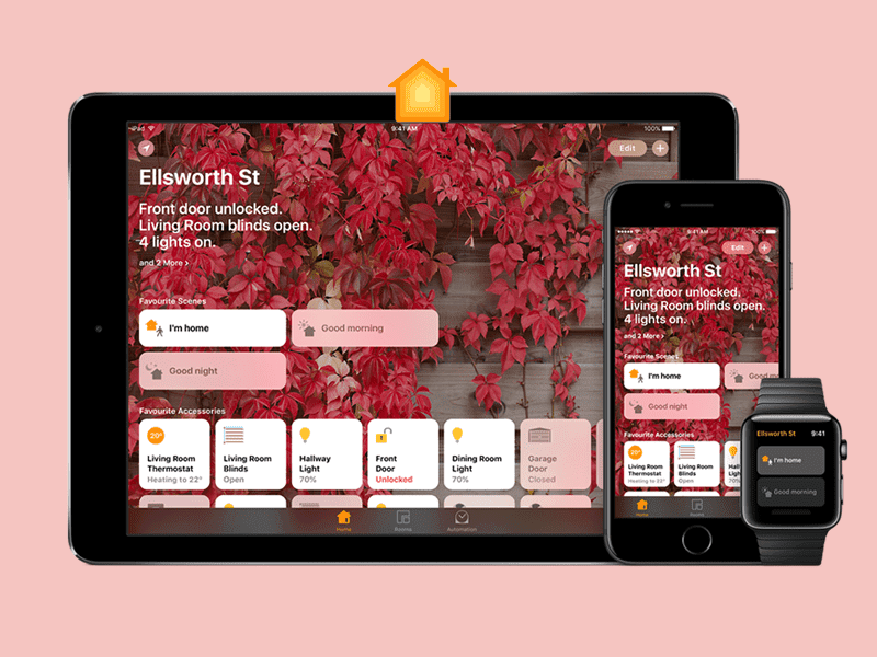 Apple iOS Home: Live Your Smarter Life with Home App
