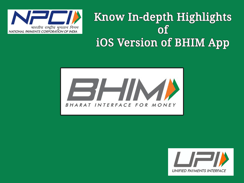 BHIM App for iOS Launched: Know In-depth Highlights