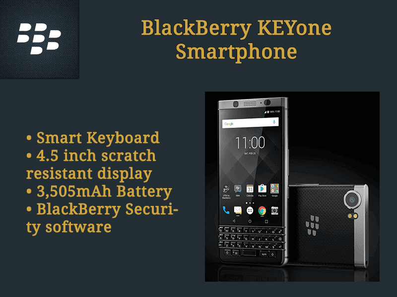 MWC 2017: BlackBerry KEYone Specs, Features And Price