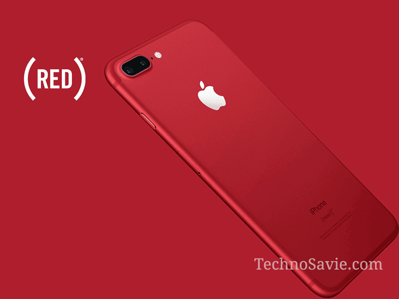 Apple special Red edition of iPhone 7 and iPhone 7 Plus