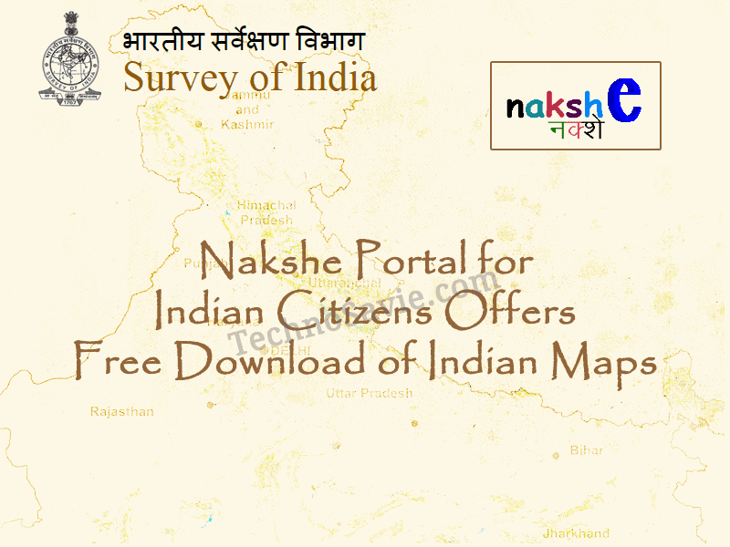 Nakshe Portal by Survey of India