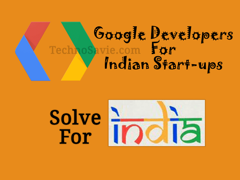 Google 'Solve for India' campaign