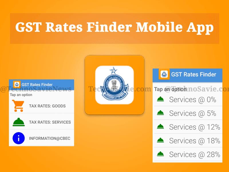 GST Rates Finder