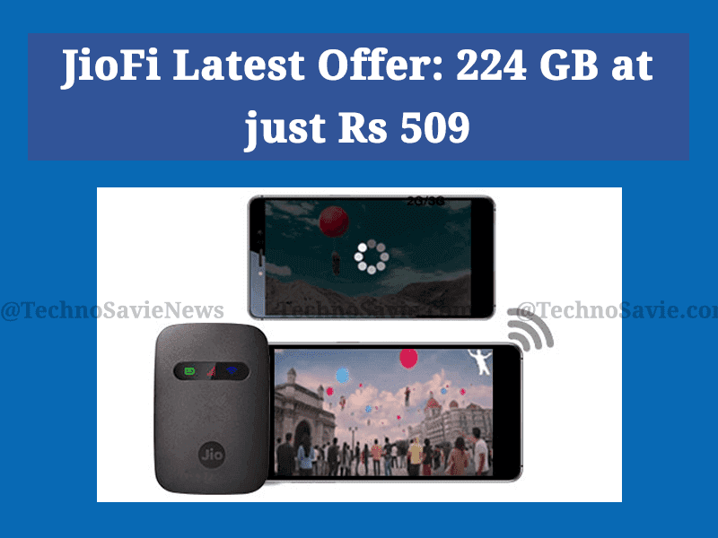 JioFi latest offer