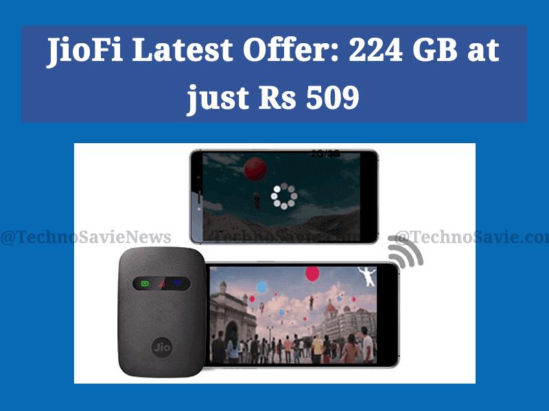 JioFi latest offer