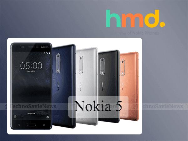 Nokia 5 sales start on August 15