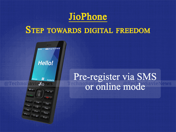 Reliance JioPhone 4G feature phone