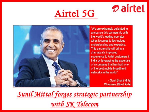 Airtel 5G: Sunil Mittal forges strategic partnership with SK Telecom
