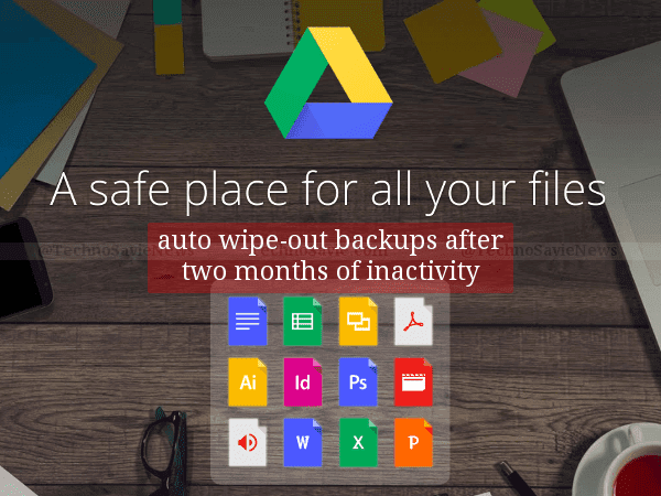 Google will auto delete your Android backup if your phone is inactive