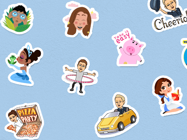 Stickers in Gboard
