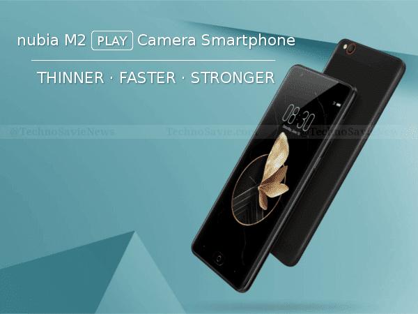 ZTE Nubia M2 Play 4G VoLTE Smartphone