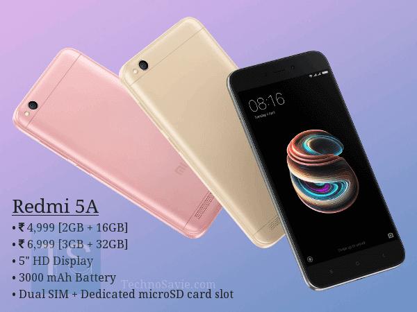 #DeshKaSmartPhone Redmi 5A launched