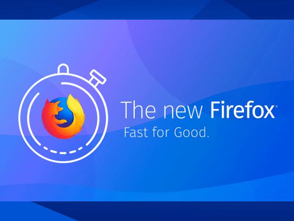 The new Firefox Quantum