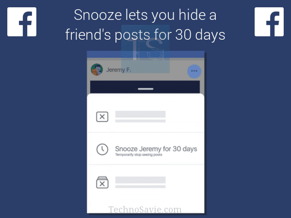 Facebook Snooze: Now mute irritating friends secretly for 30 days
