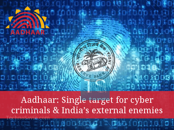 Aadhaar Data Breach: Privacy of Indians is at risk