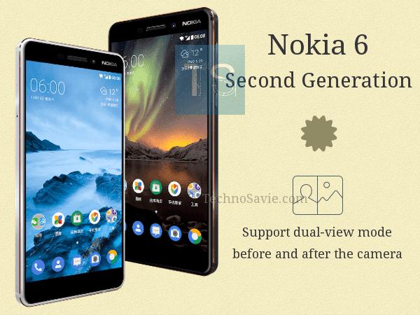 Nokia 6 Second Generation 2018