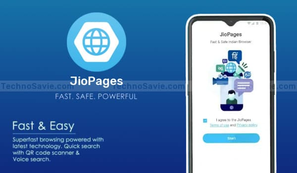 Reliance JioPages Web Browser